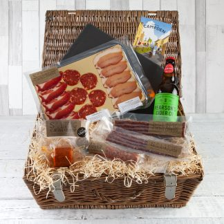 Cotswold Charcuterie Hamper, Charcuterie Gifts, Luxury Food Hampers, Cotswold Food Hampers Online, UK Delivery,