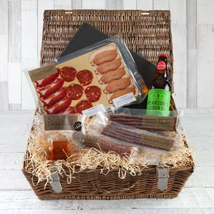 Cotswold Charcuterie Hamper, Charcuterie Gifts, Luxury Food Hampers, Cotswold Food Hampers