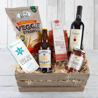 Vegan Hamper, Luxury Vegan Hamper, Vegan Food & Drink Hamper, Fillet & Bone, Gifts, UK Delivery, Cotswold Food Hampers