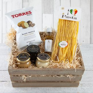 Truffle Lovers Hamper, Italian Inspired Hampers, Truffle Hampers, Food Hampers, Online, UK Delivery, Cotswold Food Hampers