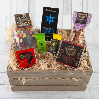 Sweetie Lover Hamper, Sweet lover hampers, sweet gifts, luxury sweet gifts, Cotswold Food Hampers