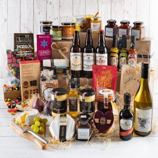 Deluxe Hamper, Business Gift, Taste of Cotswolds, Cotswolds Food & Drink Hamper, Luxury Hamper, Large Hamper, UK Delivery, Online Gifts