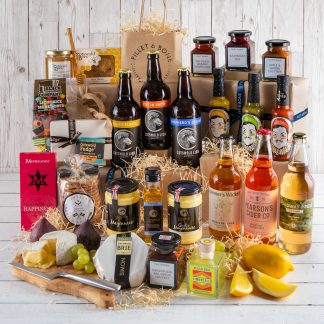 Cotswold Valleys Hamper, Business Gift, Corporate Hamper, Luxury Gift,